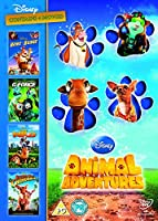 Disney Animal Adventures 4 DVD [Import]
