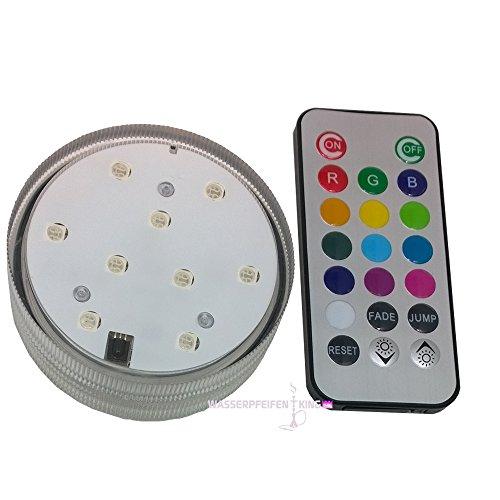 Kaya Shisha LED Licht mit Fernbedienung 7 cm für Wasserpfeife