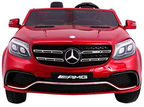 RC Auto kaufen Kinderauto Bild 5: Kinderauto Elektroauto Kinderfahrzeug Spielzeug Elektrofahrzeuge - Mercedes Benz GLS 63 AMG 4WD 2-Sitzer - Rot Lackiert*