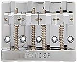 Fender HiMass Chevalet pour basse 4 cordes avec sillets en laiton Chromé