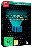 Collector's Box Flashback for Nintendo Switch Game Digital Remastered Soundtrack Exclusive Numbered Metal Card Retro Cartridge Style Metal Case