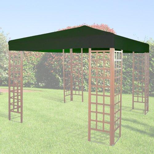 Giardini del Re Telo di Ricambio per Gazebo, Verde, 300x400x2 cm
