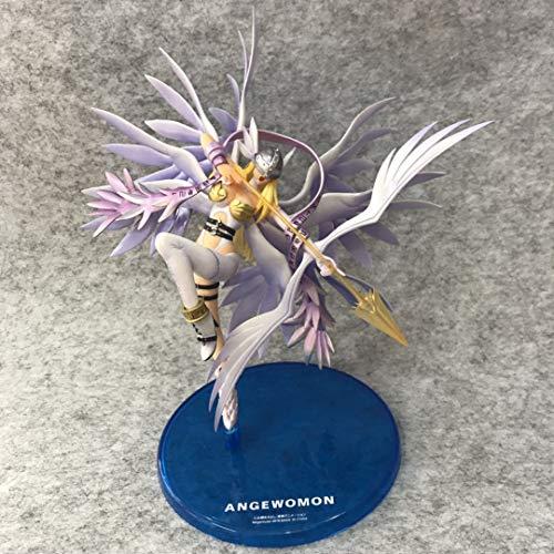 Yvonnezhang Anime Digimon Adventure Angewomon Heiliger Pfeil Mädchen Action Figure Modell Spielzeug