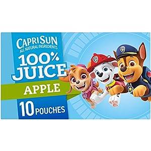 Capri Sun 100% Apple Juice Ready-to-Drink Juice (10 Pouches) |