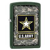 ZIPPO U.S.ARMY #28631 ACU迷彩 マットグリーン