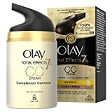 Olay Total Effects 7 en 1 CC Cream Hidratante Claro a Medio - 50 ml
