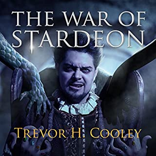 The War of Stardeon     The Bowl of Souls, Book 4              By:                                                                                                                                 Trevor H. Cooley                               Narrated by:                                                                                                                                 Andrew Tell                      Length: 15 hrs and 58 mins     757 ratings     Overall 4.6