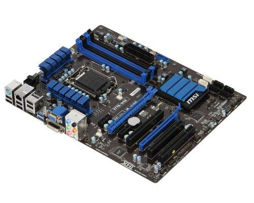 MSI Z77A-G43 Sockel 1155 Mainboard (ATX, Intel Z77, 4X DDR3, DVI-D, HDMI, VGA, 4X SATA III, 2X USB 3.0)