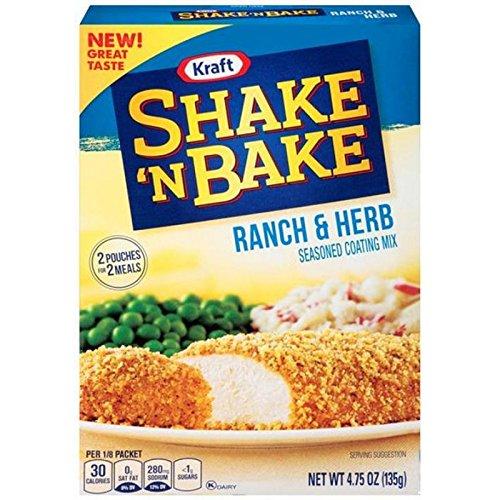 Kraft Shake n Bake - Ranch & Herb (135g)