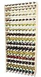 Len mar.de Solid 135 Holzweinträger für 135 Flaschen
