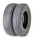 2 Premium FREE COUNTRY Tires ST 175/80D13 8PR Load Range D - 11071