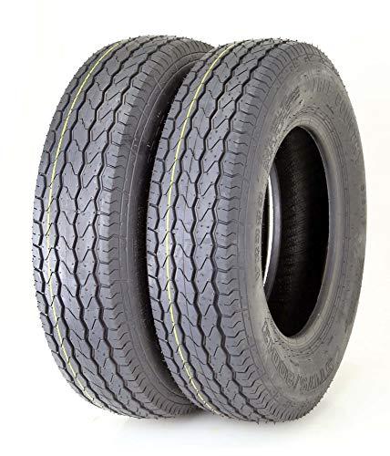 2 Premium FREE COUNTRY Trailer Tires Heavy Duty ST175/80D13 8PR Load Range D - 11071 …