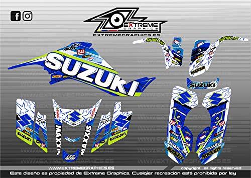 Extreme Graphics Kit Adhesivos Suzuki LTZ 400 Full Cover