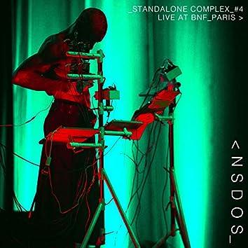 Standalone Complex #4 - Live at BNF Paris