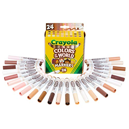 Crayola 24ct Colors of the World Markers