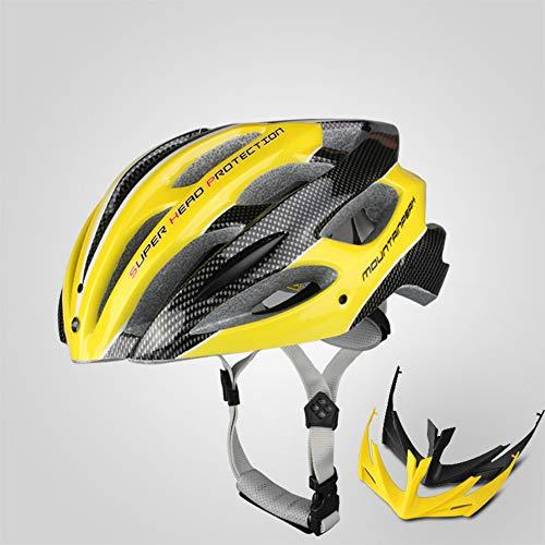 CXL Helmet bicicletta batteria auto uomo e donna equitazione casco attrezzatura mountain bike casco modellante integrato con spie luminose