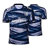 JIEBANG 2019 Jersey Rugby Leinster, Rugby Polo Formation T-Shirt, 100% Polyester Tissu Respirant, Compétition De Formation Maillot Football Masculin XXL