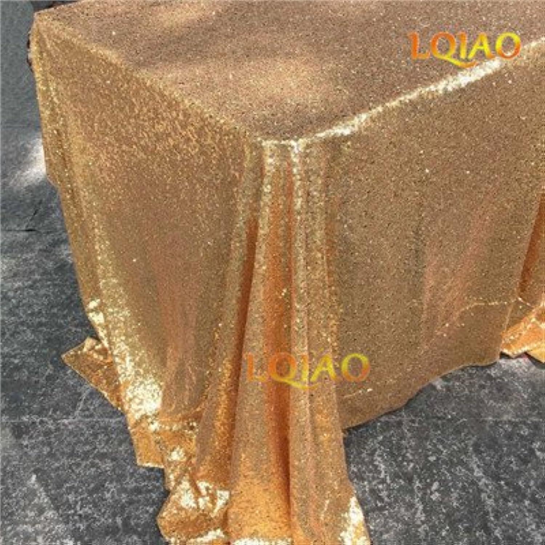 BlauLSS Krorean Bettwäsche Tischdecke Rechteckige grüne Blätter gedruckt Tischdecke mit Spitzenkante staubdicht Tischdecken Dekoration, Gold B07B8MQCCW Rabatt   | Schönes Design