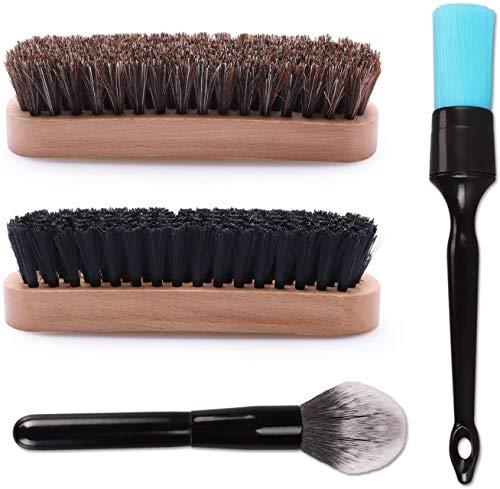 Reinigungsbürstenset, Auto-Reinigungsbürste, SPTA Pinsel Brush Set - Felgenreinigung - Innenreinigung - Außenreinigung - chemieresistent - für schonende Detailarbeit