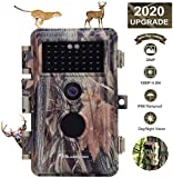 Game Trail Camera Night Vision 20MP HD 1920x1080P H.264 MP4 Video Hunters Wildlife