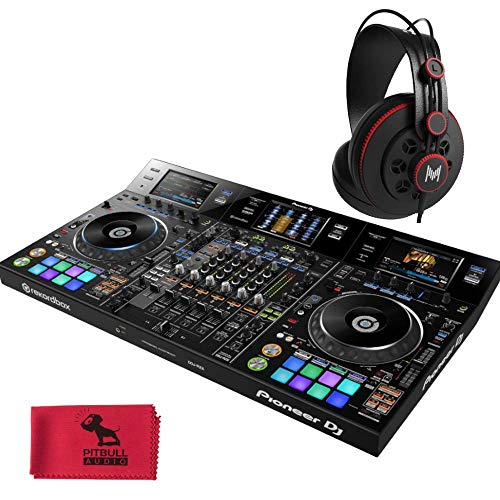 Great Features Of Pioneer DDJ-RZX Professional 4-Channel DJ Controller with MHPRO10 Full Range Profe...