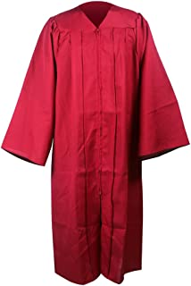 Unisex Adult's Matte Finished Choir Robes,Costumes for Baptism Wedding Drama or Church Activities
