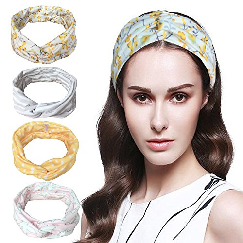 Vellette Cinta de cabeza Turbantes Mujer Venda De Pelo Elá