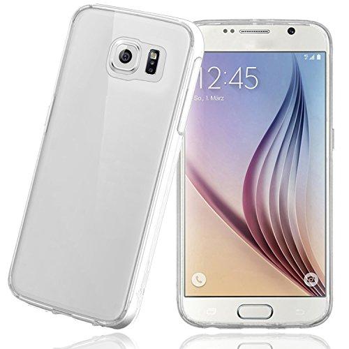 Bingsale TPU Hülle Samsung Galaxy S6 Silikon Tasche Hülle - Silicon Protector Schutzhülle (samsung galaxy s6, transparent)