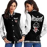 Dlovae Jacket Chaqueta Womens Hellacopters Funny Graphics Sport Coat
