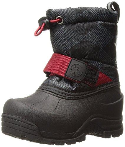 Deer Stags Boys' GORP Hiking Boot, Black, 6 Medium US Big Kid