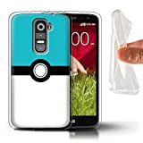 Stuff4 Phone Case for LG G2 Mini/D620 Pokeball Anime