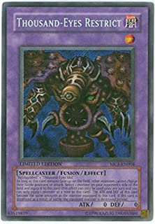 Yu-Gi-Oh! - Thousand-Eyes Restrict (MC1-EN004) - Master Collection Volume 1 - Limited Edition - Secret Rare