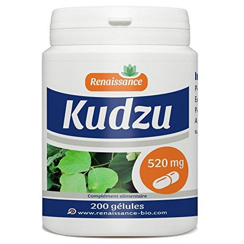 Kudzu 200 gélules dosées à 520mg