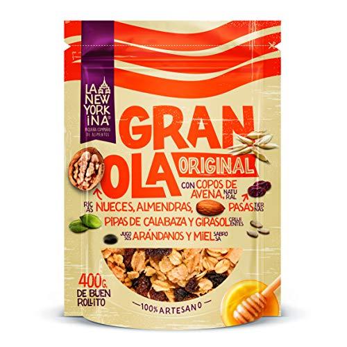 La Newyorkina - Granola Original- Bolsa de 400 gr - Alto Contenido...