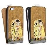 Étui Compatible avec Apple iPhone 5c Étui à Rabat Étui magnétique Klimt ¼uvre d'art Peinture