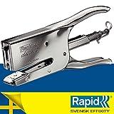 Rapid 10510601 - Grapadora, color plateado