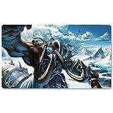 Warcraft139 - Alfombrilla de juego de mesa de Warcraft, tamaño 60 x 35 cm, alfombrilla de ratón World of Warcraft para Yugioh Pokemon MTG o TCG