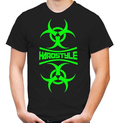 Hardstyle Mirror T-Shirt | Hardcore | Techno | Electro | Hard Trance | Männer | Herren | Bass | Musik | Tanzen | DJ (S)