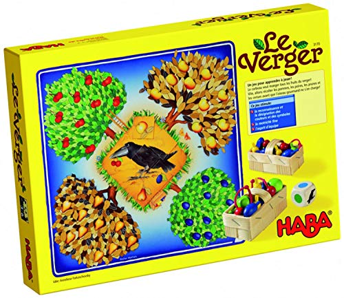 Jeu Le verger - Haba