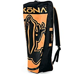 """Designed to carry Mask, Snorkel, Fins, Towel and other necessities. The bag measures - 23"""" x 9"""" x 7"""" Mask Pocket designed large enough to accommodate the Mask Box for added protection. A single, adjustable, padded strap on the back so you can toss it..."""