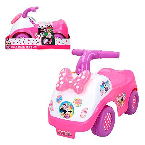 Disney- Correpasillos camión interactivo, Minnie (Colorbaby 46348)