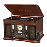 Victrola Aviator: 8-in-1 Bluetooth turntable, Espresso