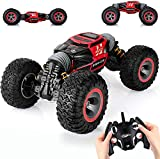 Powerful Control: With a highly responsive steering and throttle, the RC car's ergonomic transmitter is equipped with a 2.4 GHz Control System to ensure superior control of the car. High-Capacity Rechargeable Battery: The fast remote car toy is equip...