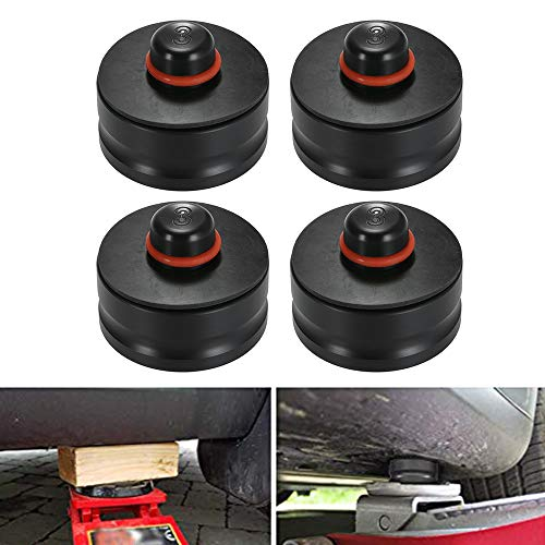 Qook Jack Lift Pad for Tesla Model 3, Jack Point Pad Sturdy Adapter Protects Battery & Paint for Using with a Floor Jack (4pcs)