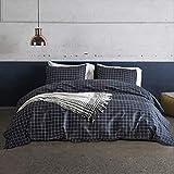 HOMEWINS Parure de Lit pour 2 Personnes Housse de Couette 220×240cm avec 2 Taies d'oreiller...