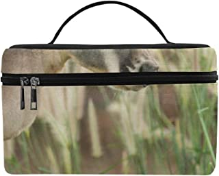 Mother And Baby Kangaroo Hug Pattern Lunch Box Tote Bag Lunch Holder Insulated Lunch Cooler Bag For Women/men/picnic/boating/beach/fishing/school/work