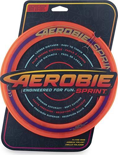 Aerobie Sprint Flying - Anillo de lanzamiento (25,4 cm), color naranja