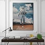 Astronaut Wand Leinwand Malerei Bild neuen Modedruck Home