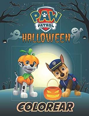 paw patrol halloween : colorear: la Patrulla Canina Libro para Colorear para niños de 2 a 4 años. de Independently published