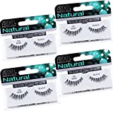 Ardell Natural Lashes False Eyelashes 120 Black (4 pack)